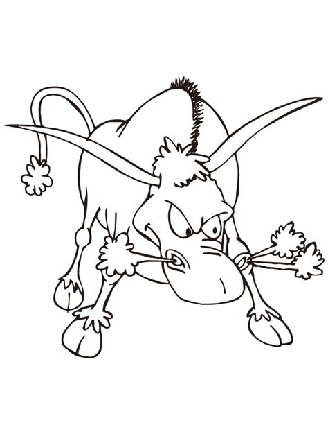 Ferdinand The Bull Coloring Pages Coloring Home Bull Coloring Pages