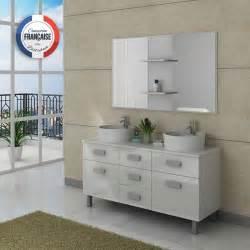 attractive Meuble De Cuisine Pour Salle De Bain #2: meuble-salle-de-bain-dis911b-blanc.jpg
