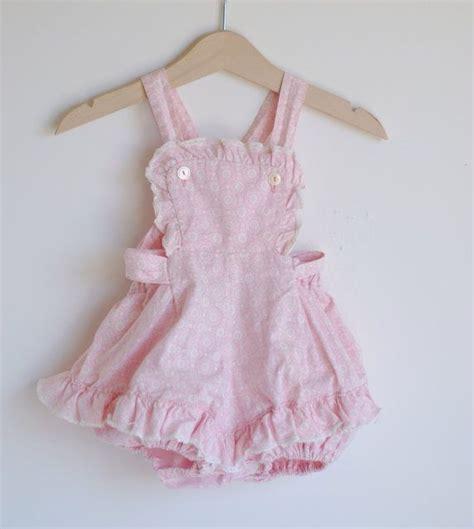 Kem Dress Pink vintage romper about a name