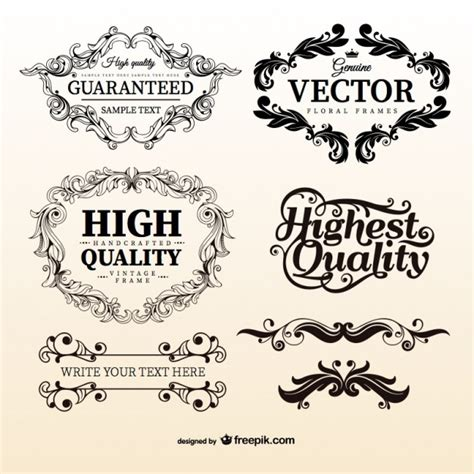 Monogram Home Decor by Antique Vectors Photos And Psd Files Free Download