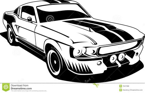 car black and white mustang car clipart black and white clipart panda free