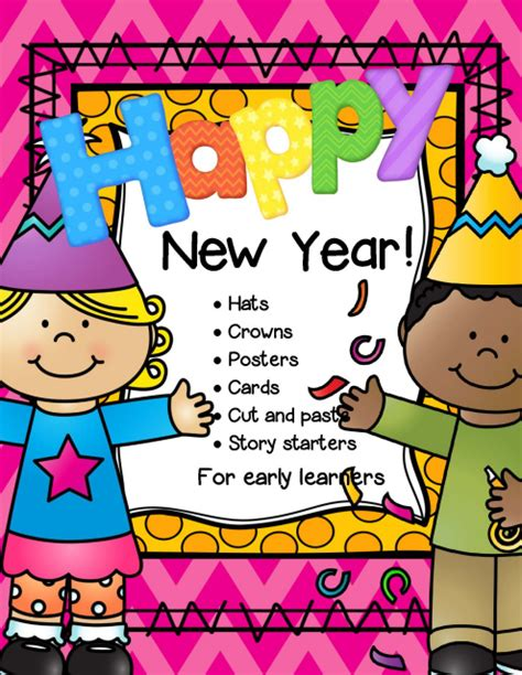 new year activity theme new year theme activities and printables for preschool and