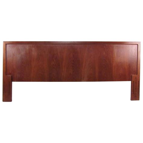 teak headboard mid century modern danish teak bed headboard for sale at
