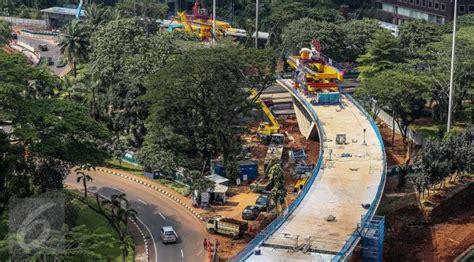 design jembatan semanggi ahok proyek simpang susun semanggi diresmikan agustus