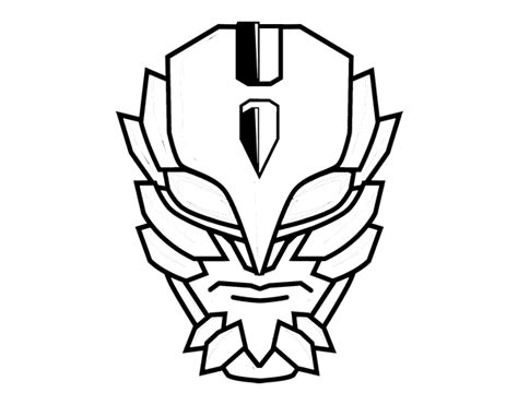 super villain mask coloring page coloringcrew com