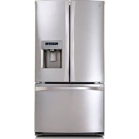 door refrigerator sears outlet kenmore elite 71053 27 6 cu ft door bottom