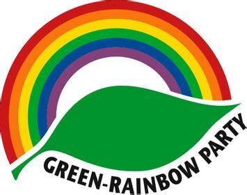 Rainbow Green green rainbow
