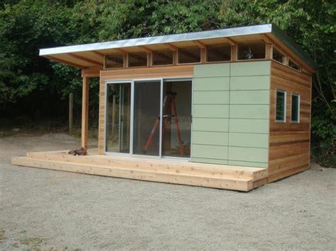 modern shed pre fab shed kit    coastal prefab