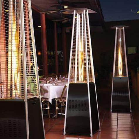pyramid patio heater garden radiance stainless steel pyramid outdoor patio