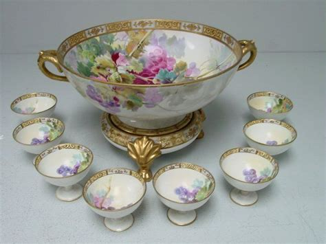 Nippon Set4 17 best images about glorious china glass porcelain on glass vase pink roses and