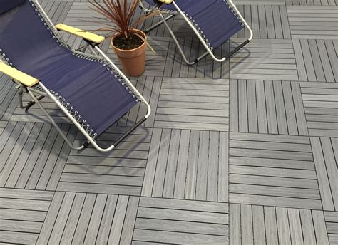 decking authentic appearance  composite deck tiles