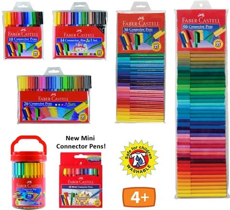 Harga Highlighter Pac faber castell connector pens are made with polypropylene