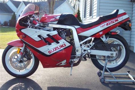 89 Suzuki Gsxr 750 89 Suzuki Gsx R 750 Sportbikes For Sale
