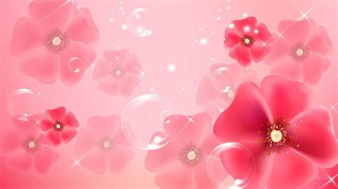floral lights 15 pink floral wallpapers floral patterns freecreatives