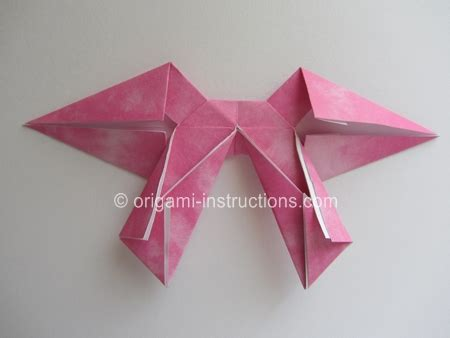 Origami Crossbow - best photos of step by step origami bow origami bow tie