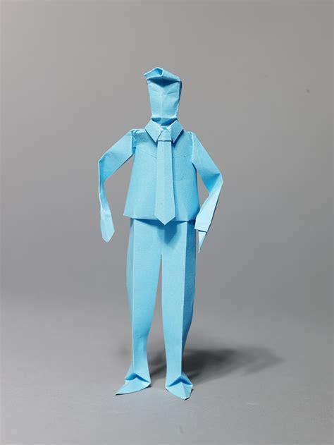 Folded Paper Figures - origami figures sutherland
