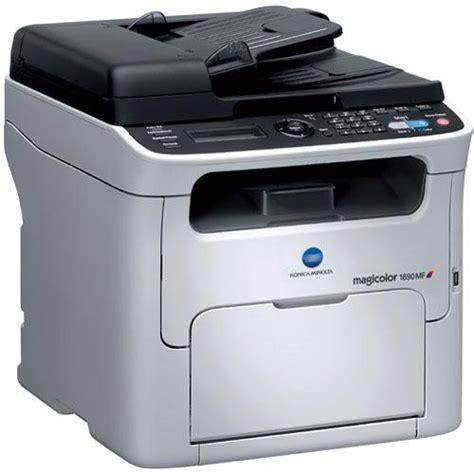 Printer Laser Warna Konica Minolta konica minolta magicolor 1690mf network color all in one a0hf012