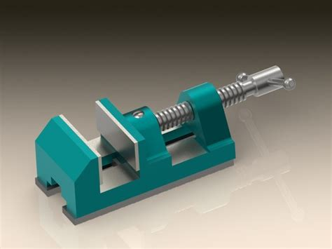 bench vice assembly 301 moved permanently