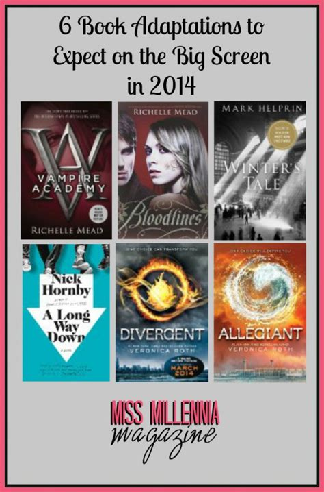 7 Best Book To Adaptations by 6 Book Adaptations To Expect On The Big Screen In 2014