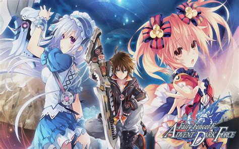 fairy fencer  advent dark force review  push start