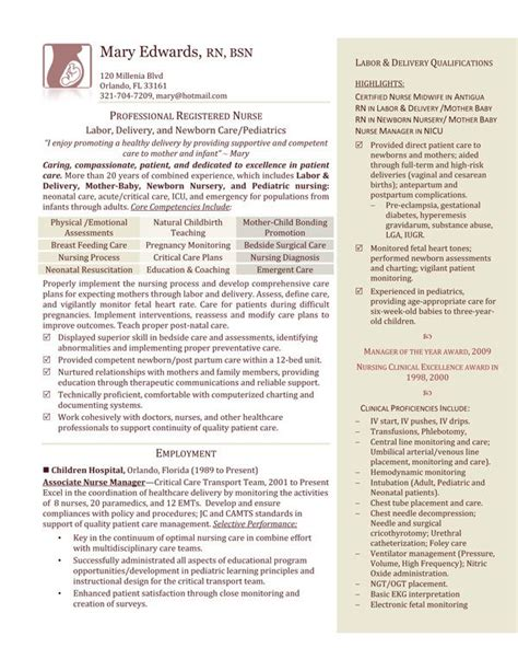 Labor And Delivery Resume by A Comprehensive Overview Of Labor And Delivery