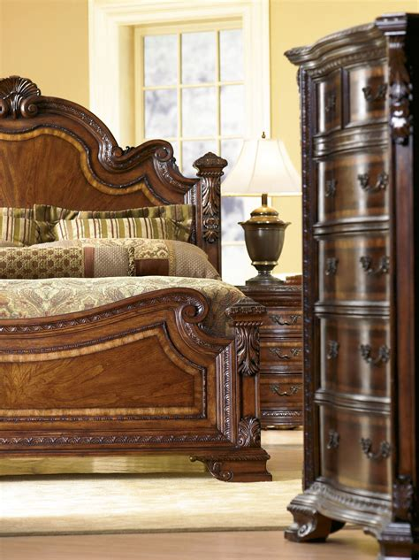 art old world bedroom furniture old world estate bedroom set from art 143155 coleman