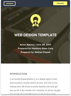web design proposal rar download free proposal templates for your business