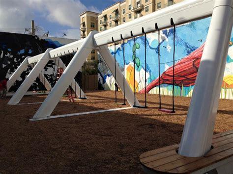 musical swings musical swings swinging in downtown wptv com