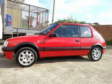 peugeot gti 1990 1990 peugeot 205 gti auto restorationice