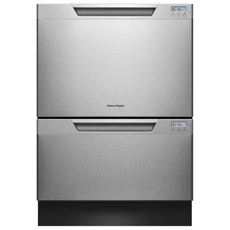 lavastoviglie a cassetti shop fisher paykel 53 decibel 2 drawer dishwasher energy