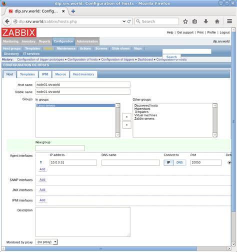 tutorial zabbix ubuntu server ubuntu 16 04 lts zabbix add monitoring target ubuntu