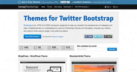 free bootstrap templates for rails bootstrap themes