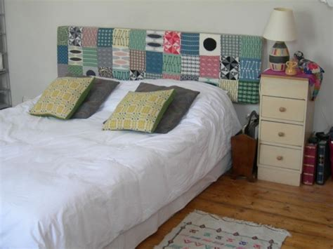 Patchwork Headboard - patchwork headboard diy inspiration bed