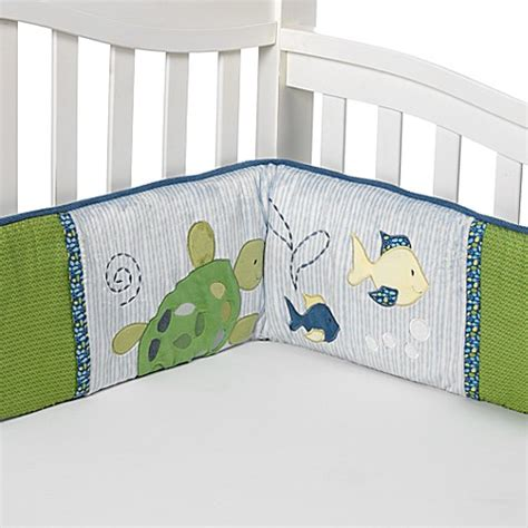 Cocalo Turtle Reef Crib Bedding Buy Cocalo Baby 174 Turtle Reef 4 Crib Bumper Set From Bed Bath Beyond