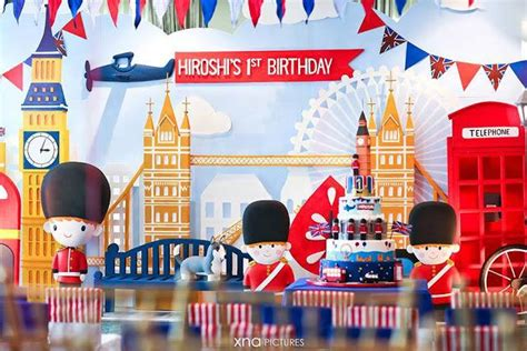 london birthday themes a british themed 1st birthday perfect for a royal little