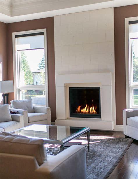 concrete fireplace surrounds indoor