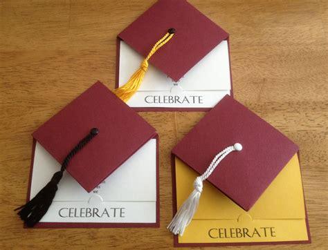 Handmade Graduation Invitations - graduation invitation school colors graduation cap