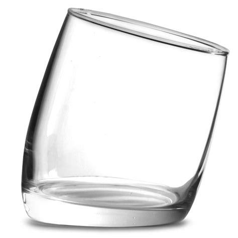 Tilted Bar Glasses Ludico Tilted Fashioned Tumblers 10oz 300ml