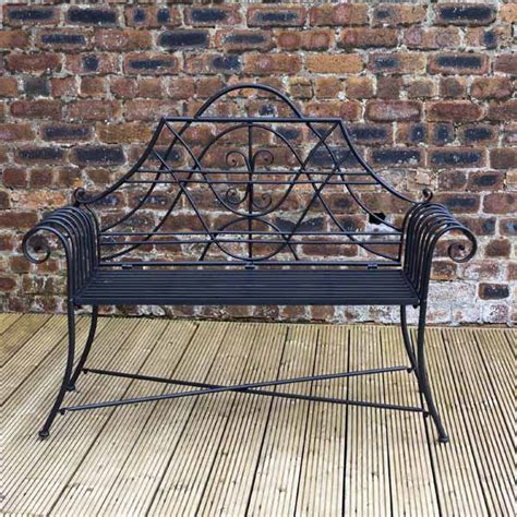 metal lutyens bench greenfingers lutyens bench on sale fast delivery