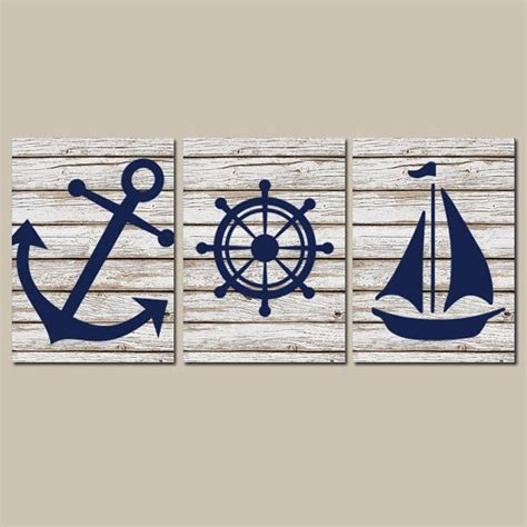 Best 25 nautical wall art ideas on pinterest nautical bedroom nautical sayings and vintage