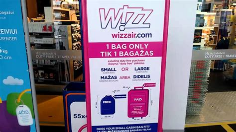 wizzair large cabin bag weight wizz air no longer charges for large luggage pound