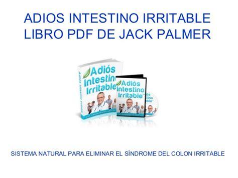 libro el intestino feliz camo adios intestino irritable libro pdf de jack palmer