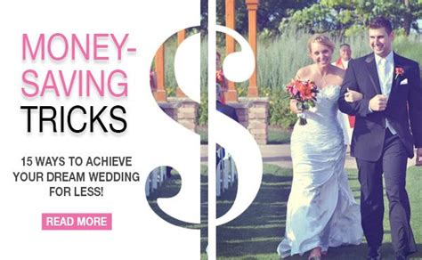 7 Money Saving Tips For Your Wedding by 15 Money Saving Tricks From Real Brides Brunch Wedding