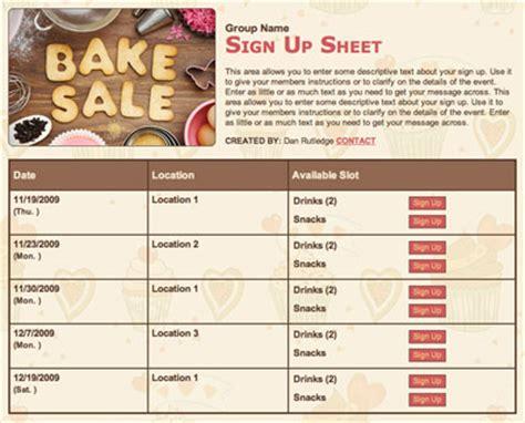 fundraiser sign up sheet template 50 fundraising ideas