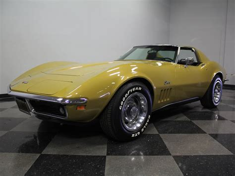 corvette stingray gold gold 1969 chevrolet corvette stingray for sale mcg