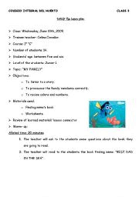 my family plan english worksheets lesson plan my family