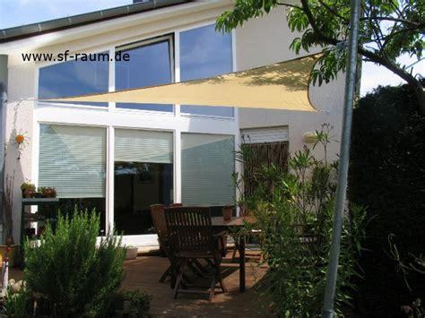 sonnensegel terrasse dreieck 400 sonnensegel sonnenschutzfolien die flensted mobiles