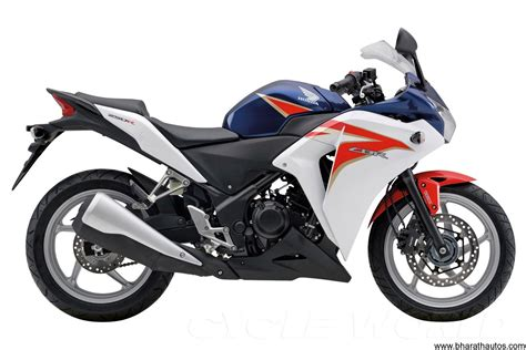new cbr bike honda motorcycles to launch a new tri colour cbr 250r by