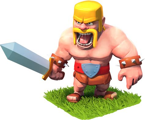 clash of clans barbarian level 7 clash of clans barbarian clash wiki com