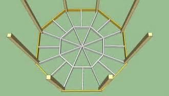 Gazebo Floor Layout by Gazebo Plans Free Howtospecialist How To Build Step